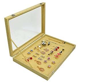 Amazon.com: Ring Box 100 Slots Earring Storage Organizer