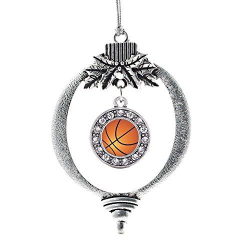 Inspired Silver Basketball Circle Holiday Decoration Christmas Tree