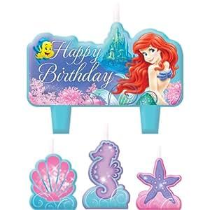 Little Mermaid Ariel Birthday Candle