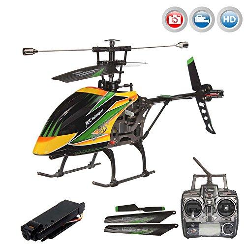 4.5 Kanal 2.4GHz XXL RC ferngesteuerter Hubschrauber mit Kamera, Indoor und Outdoor,Crash-Kit RTF