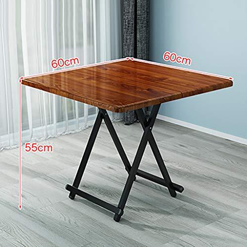 QYJ-matbord bekämpande bärbart fällbord 2–4 säten den moderna huvudköksskivan trämasering utomhus