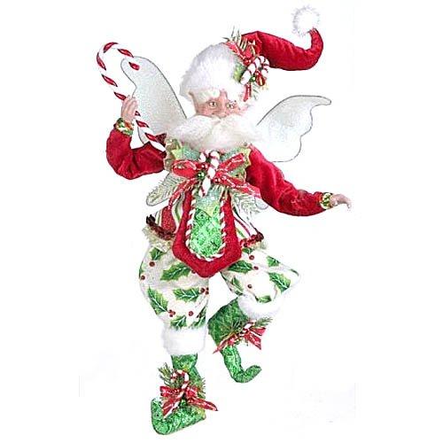 Mark Roberts Candycane Holly Fairy 2014 Medium 16''