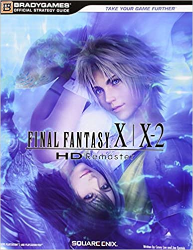 Book Final Fantasy X-X2 HD Remaster Official Strategy Guide