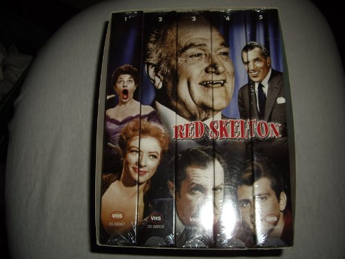 Red Skelton Greatest Comedy Shows, Collector 5 Pack Series (Red Skeleton)