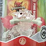 CRYSTAL CLEAR Fire Bone Hot Dog RED FLAMES VARIANT