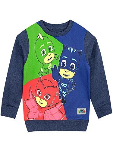PJ Masks Boys Catboy Owlette Gekko Sweatshirt
