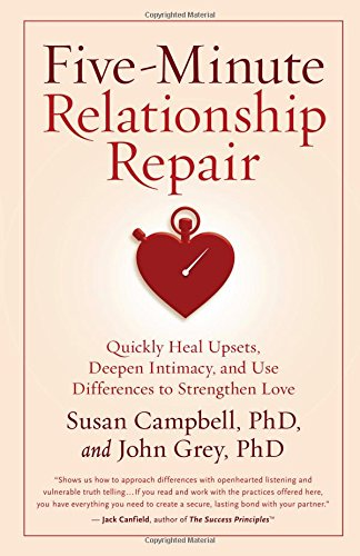Five-Minute Relationship Repair: Quickly Heal Upsets, Deepen Intimacy, and Use Differences to Strengthen Love by HJ Kramer/New World Library