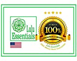 Lulu Essentials Natural Loofah Pads (4 Pack) Large