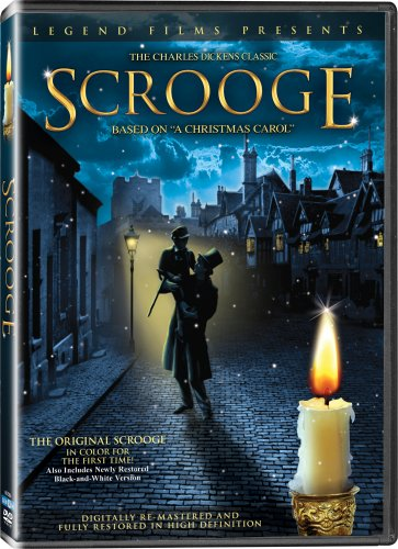 Scrooge - In COLOR! Also Includes the Original Black-and-White Version which has been Beautifully Restored and -