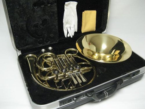 OPUS USA by Ktone Professional Gold Double French Horn Brand New by OPUS USA by Ktone (Image #2)