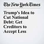Trump's Idea to Cut National Debt: Get Creditors to Accept Less | Binyamin Appelbaum