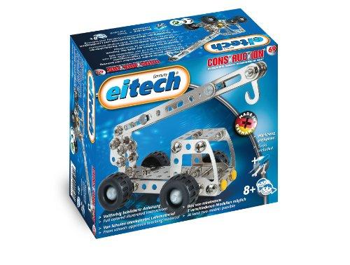 eitech Mobile Cranes/Trucks Metal Construction Starter Set