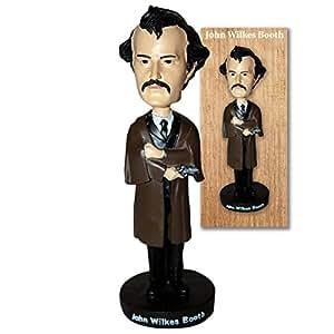 John Wilkes Booth Lincoln Assasination Bobblehead Doll