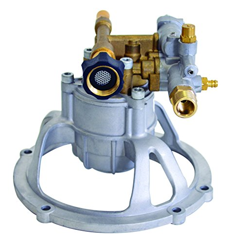 SIMPSON Cleaning 90027 Axial Cam Vertical Pressure Washer Replacement Pump 8.6CAV12B 3100PSI @ 2.5 GPM with Brass Head and PowerBoost Technology by Simpson Cleaning