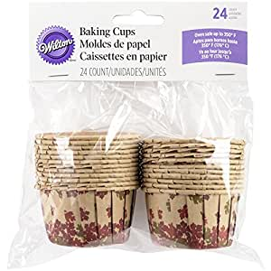 Wilton 415-3190 Cozy Fall Bake-Able Nut Cups, Assorted