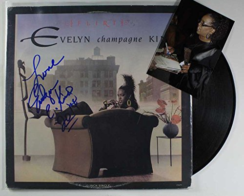 Flirt Champagne - Evelyn 'Champagne' King Signed Autographed
