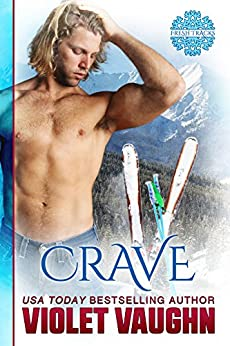 Crave: New Adult Sport Romance (The Boys of Winter Book 1) by [Vaughn, Violet]