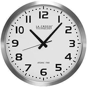 amazon com la crosse technology 404 1210s 10 inch wwvb chapter ring