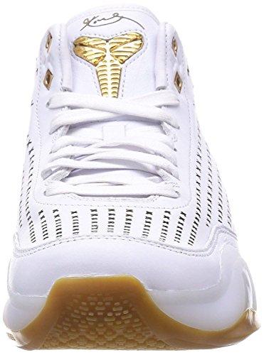Nike Kobe X Mid Ext, Zapatillas de Baloncesto para Hombre Blanco