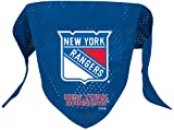 NHL New York Rangers Pet Bandana, Team Color, Large