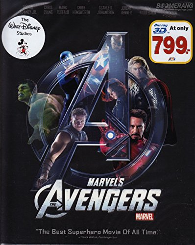 Marvel's The Avengers (Blu-ray 3D, Region A, Joss Whedon) (Marvels Avengers 3d Blu Ray compare prices)