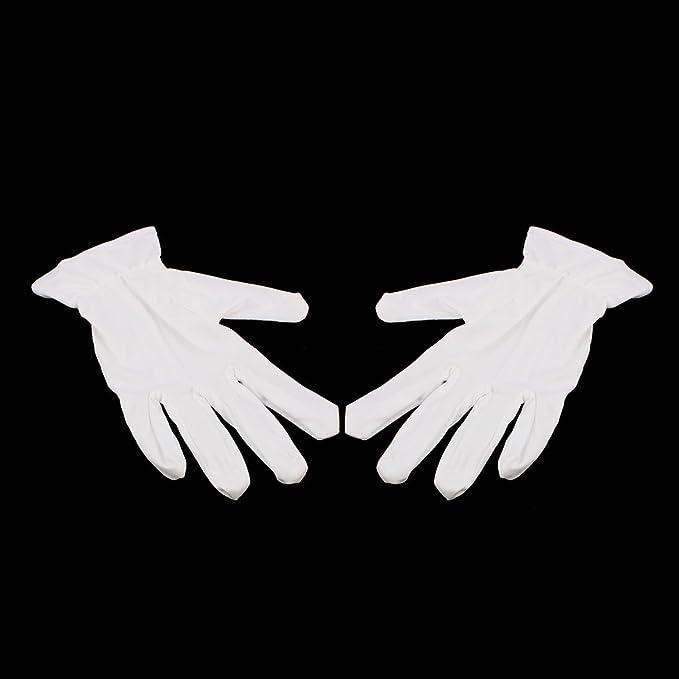 eDealMax 10 pares de guantes llenos del dedo de microfibra de trabajo de trabajo sobre protección antiestática de gran tamaño - - Amazon.com