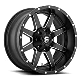Fuel Offroad Wheels D538 20x14 Maverick 8x170 NB4.50 -76 125.2 Black Milled