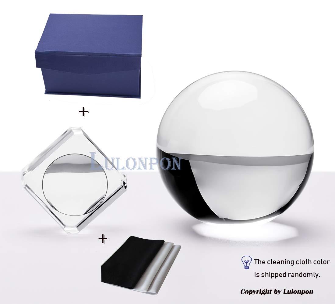 Multi-Color Crystal Ball Pendant,Lens Ball K9 Crystal Decorating Hanging Faceted Prism Balls for Feng Shui//Divination or Wedding//Home//Office Decoration