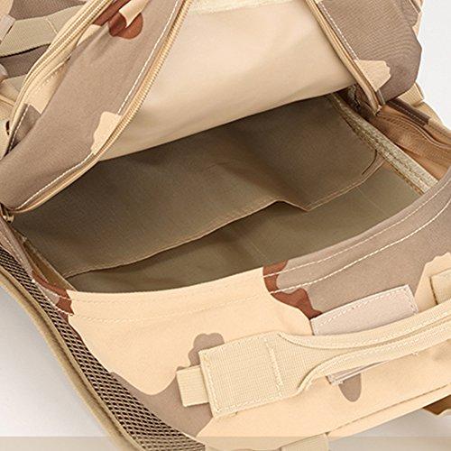 Dreamore 35L Sport Rucksack Im Freien Freizeit Oxford Tarnung Tuch Multifunktions Anti-regen Atmungsaktiv Jungle Digitale Farb