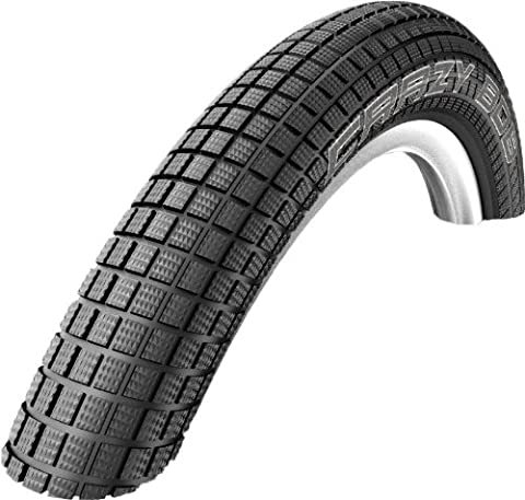 Schwalbe Crazy Bob Wire Bead Tire, 24 x 2.35-Inch, Black - 24 Bmx