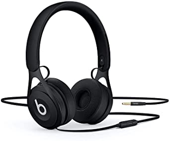 Amazon Com Beats Ep Wired On Ear Headphones Battery Free For Unlimited Listening Built In Mic And Controls Black