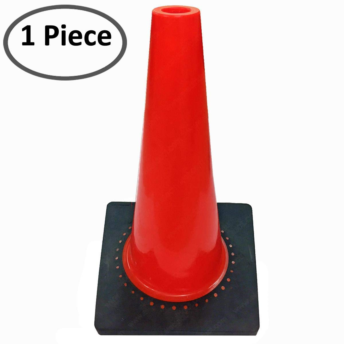 Orange 3 Meters Traffic Cone Topper 10 Feet Retractable Safety Belt