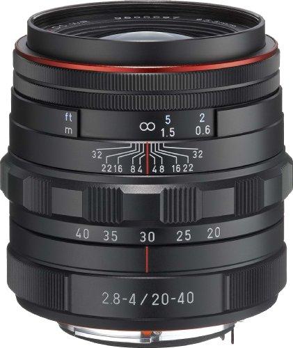 PENTAX Limited lens standard zoom lens HD PENTAX-DA20-40mm F2.8-4ED Limited DC WR Black(Japan Import-No Warranty) (Pentax K3 Best Price)