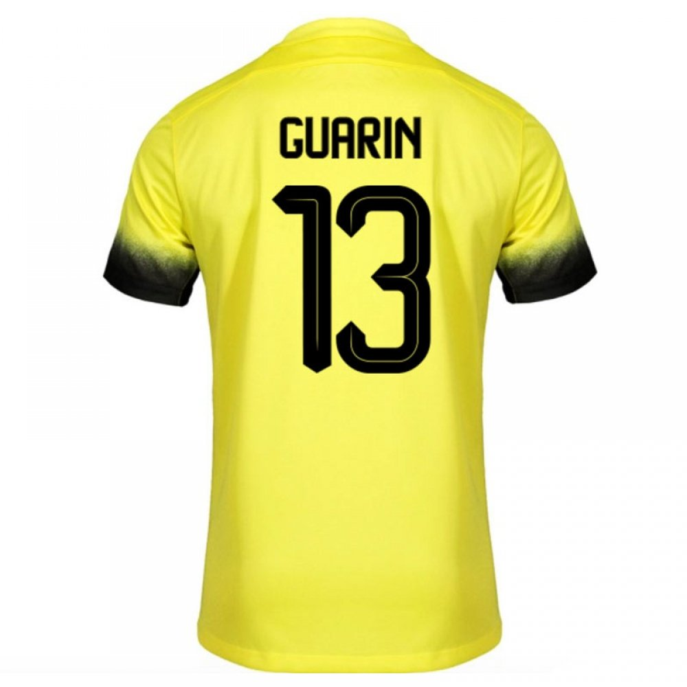 best website 26740 0f7b7 2015-16 Inter Milan 3rd Shirt (Guarin 13) - Kids: Amazon.co ...