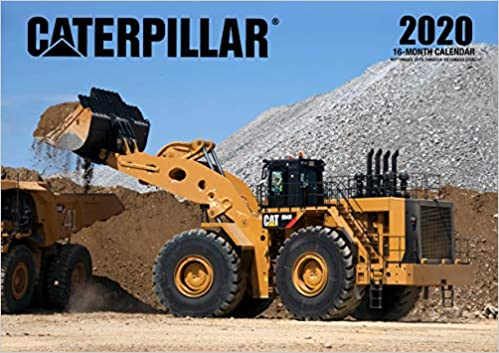 4 Month Calendar 2020 September-December Caterpillar 2020: 16 Month Calendar Includes September 2020