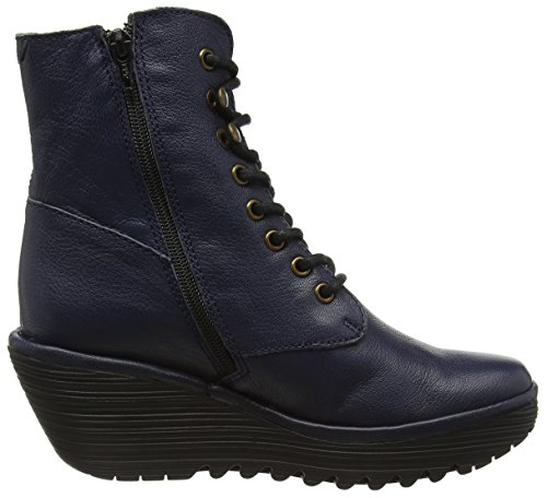 Fly London Ygot - Botines Mujer Azul (Ocean 015)