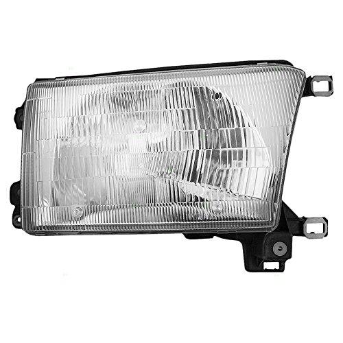 Passengers Halogen Headlight Headlamp Replacement for 96-98 Toyota 4Runner 8111035231 AutoAndArt