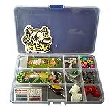 Fanci ABS Finger Skateboard Set Double Rocker DIY Tech Deck Mini Finger Boarding Toy with Storage Box