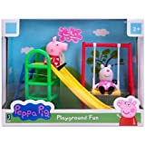Peppa Pig Playground Fun - With Peppa Pig & Suzy Sheep, Slide And Swing