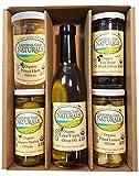 California Coast Naturals USDA Organic Olive and EVOO Gift Set, Non-GMO, Gluten Free