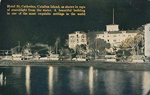 Postcard Hotel St. Catherine in Avalon Santa Catalina Island, California~120960