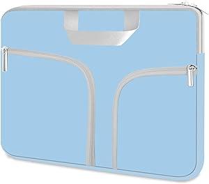 HESTECH Chromebook Case, 11.6-12.3 inch Neoprene Laptop Sleeve Case Bag Handle for Acer r11 /Spin 311/HP Stream/Samsung/MacBook Air 11/ Microsoft Surface Pro X/7/6/5/4/3/2/1 /Go-12.4