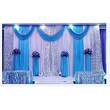Amazon Lb Wedding Stage Decorations Backdrop Party Drapes With