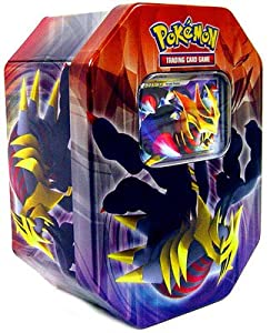 Pokemon platinum 2009 spring collector tin - Pokemon platine legendaire ...