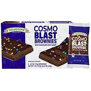 Fieldstone Bakery Cosmo Blast Brownies, 5 Boxes, 30 Individually Wrapped Brownies