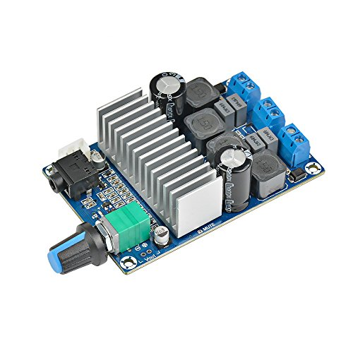 Aiyima TPA3116 2.0 Dual Channels Digital Amplifier Board 50Wx2 Support PBTL Parallel Mono Model Video Audio Accessories 100W DC12-24V
