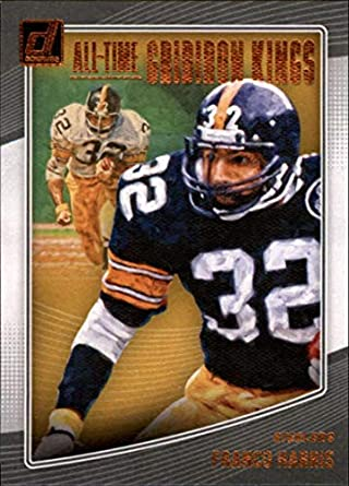 7ee1a3280ef 2018 Donruss All-Time Gridiron Kings  25 Franco Harris Pittsburgh Steelers  Official NFL Trading