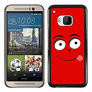 MOBMART Carcasa Funda Case Cover Armor Shell PARA HTC One M9 - Tempting Mr. Red