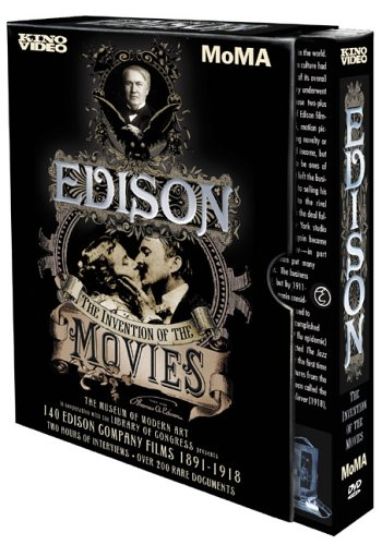 Price comparison product image Edison - The Invention of the Movies: 1891-1918