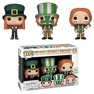 POP Funko Harry Potter Ginny Weasley Fred Weasley George Weasley 3 Pack
